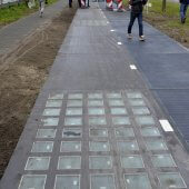 SolaRoad bike path, 2014